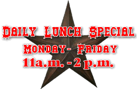 daily lunch special in victoria Texas